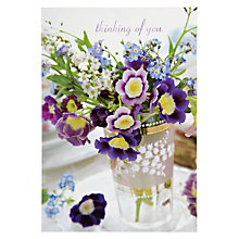 Buy Woodmansterne Thinking Of You Card Online at johnlewis.com