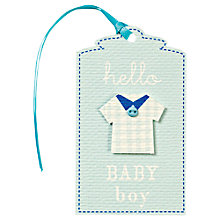 Buy Meri Meri Champagne Bottle Gift Tag Online at johnlewis.com