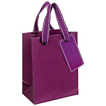 Buy John Lewis Mini Bag, Purple Online at johnlewis.com