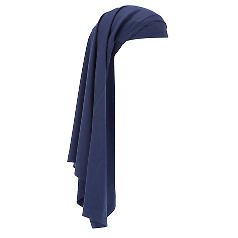 Buy John Lewis School Girls' Two Piece Hijab, Navy Online at johnlewis.com