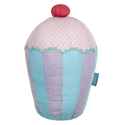 Buy little home at John Lewis Fairy Tea Party Cupcake Cushion, Multi Online at johnlewis.com