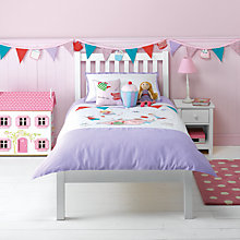 Buy little home at John Lewis Fairy Tea Party Children's Duvet Cover and Pillowcase Set, Multi Online at johnlewis.com