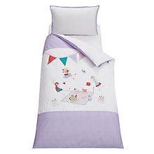 Buy little home at John Lewis Fairy Tea Party Children's Duvet Cover Set, Multi Online at johnlewis.com