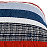 Buy little home at John Lewis Stars 'n' Stripes Cotton Quilt, Multi Online at johnlewis.com