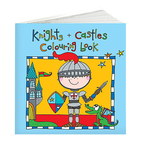 Buy Rachel Ellen Knights and Castles Colouring Book for Boys Online at johnlewis.com