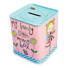 Buy Rachel Ellen Money Tin For Girls Online at johnlewis.com