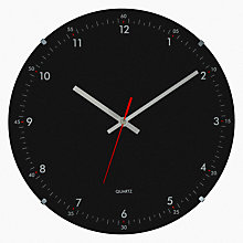 Buy John Lewis Archie Wall Clock, Dia. 30cm Online at johnlewis.com