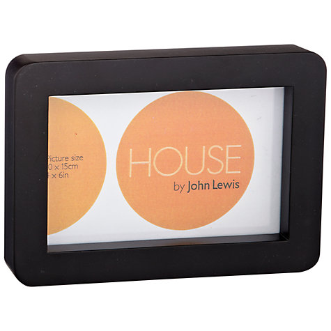 "Buy House by John Lewis Tall Box Frame, 2 Aperture, 4 x 6"" (10 x 15cm) Online at johnlewis.com"