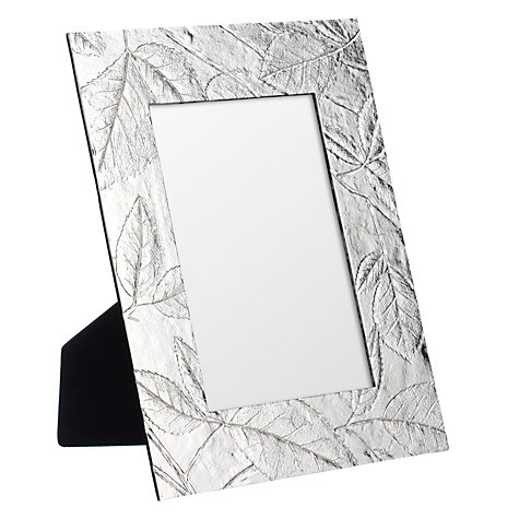 "Buy John Lewis Leaf Photo Frame, 4 x 6"" (10 x 15cm) Online at johnlewis.com"