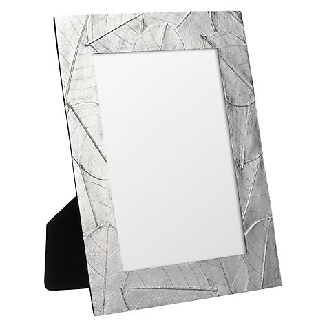"Buy John Lewis Leaf Photo Frame, 5 x 7"" (13 x 18cm) Online at johnlewis.com"