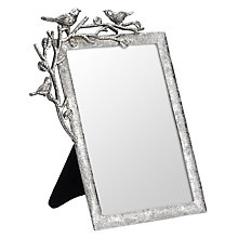 Buy John Lewis Pewter Bird Photo Frame Online at johnlewis.com