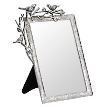 John Lewis Pewter Bird Photo Frame