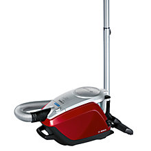 Buy Bosch BGS52242GB Pet & Carpet Cylinder Cleaner, Cayenne Red Online at johnlewis.com