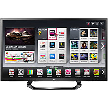 Buy LG 37LM620T LED HD 1080p 3D Smart TV, 37 Inch with Freeview HD and 4x 3D Glasses Online at johnlewis.com