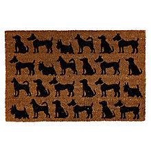 Buy John Lewis PVC Coir Canine Mat, Natural, L75 x W50cm Online at johnlewis.com
