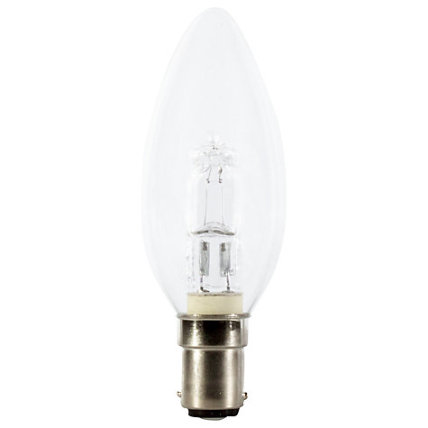 Buy Calex 28W SBC Halogen Candle Bulb, Clear Online at johnlewis.com