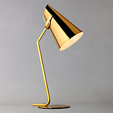 Buy John Lewis Allie Task Lamp, Gold Online at johnlewis.com