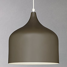Buy John Lewis Amaya Pendant, Chocolate Online at johnlewis.com