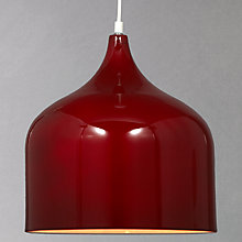 Buy John Lewis Amaya Pendant, Red Online at johnlewis.com