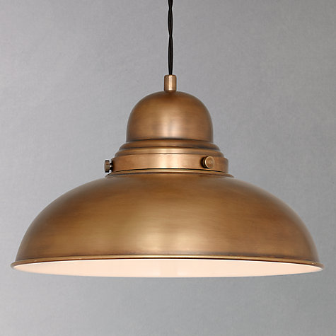 Buy John Lewis Antonio Lamp, Brass, 1 Light Online at johnlewis.com