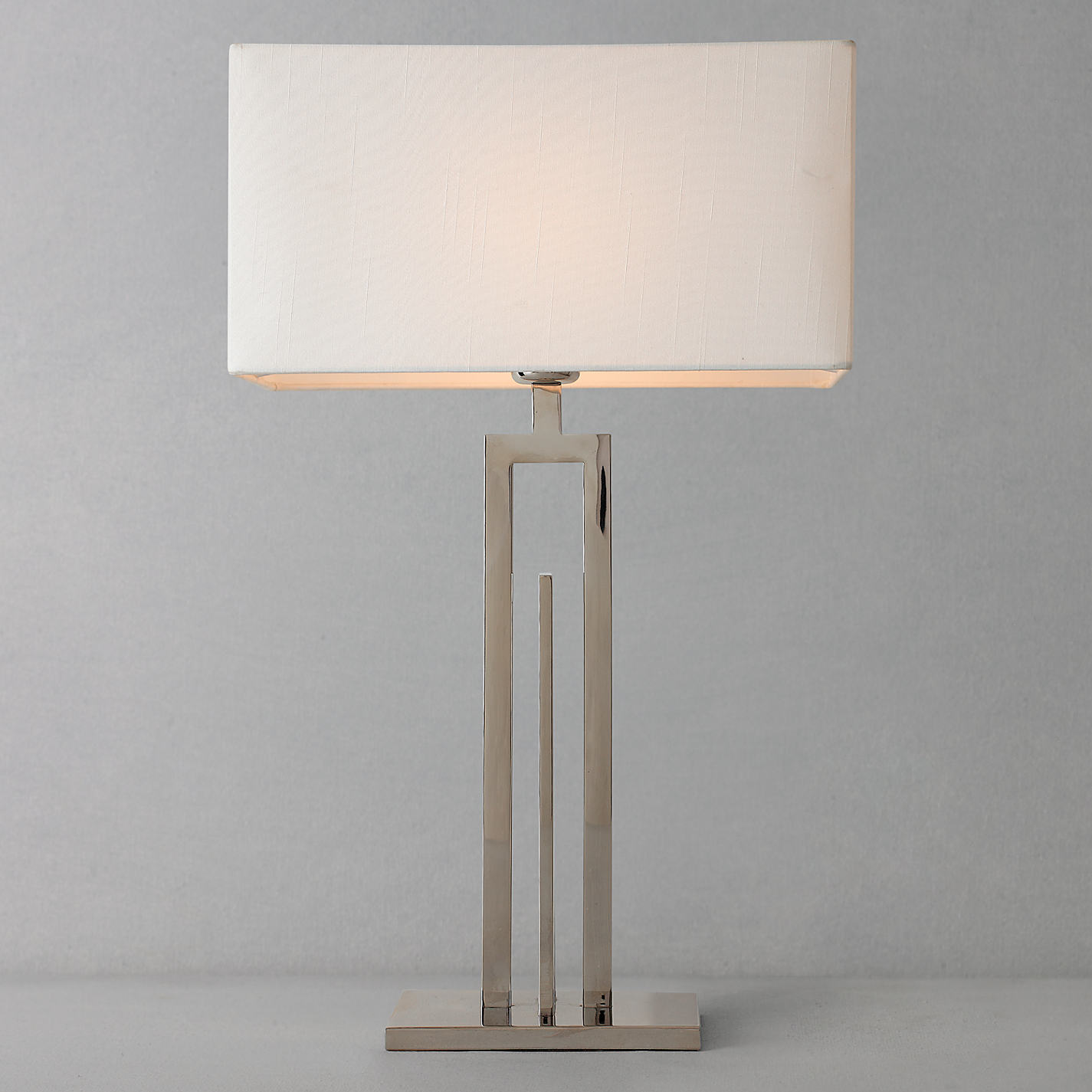 Silver lamp shades for table lamps - Silver Lamp Shades John Lewis Lamps
