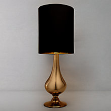 Buy John Lewis Anais Table Lamp, Gold Online at johnlewis.com