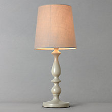 Buy John Lewis Cecilia Wood Lamp, Grey Online at johnlewis.com