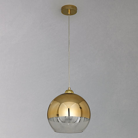 Buy John Lewis Celeste Ceiling Light, Gold, Small Online at johnlewis.com