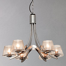 Buy John Lewis Elsa Ceiling Light, Gunmetal Online at johnlewis.com
