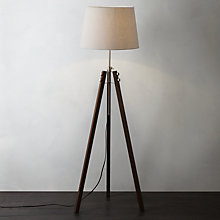 Buy John Lewis Ethan Wood Floor Lamp Online at johnlewis.com