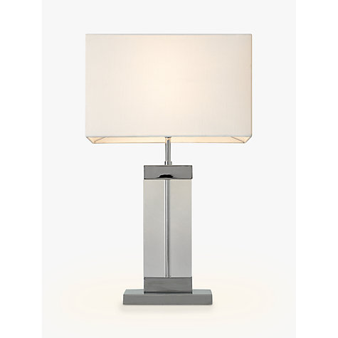 Buy John Lewis Emilee Glass Table Lamp Online at johnlewis.com
