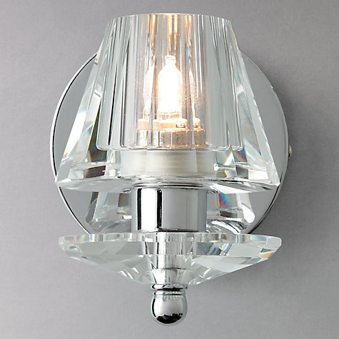 Buy John Lewis Frazier Glass Compact Wall Light Online at johnlewis.com