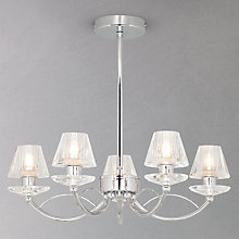 Buy John Lewis Frazier Compact Glass Chandelier Online at johnlewis.com