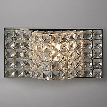 Buy John Lewis Karla Sparkle Wall Light, Clear Online at johnlewis.com