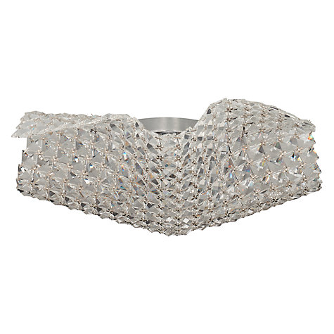 Buy John Lewis Karla Crystal Flush Light Online at johnlewis.com