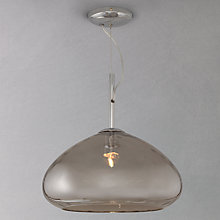 Buy John Lewis Mia Mirrored Glass Plain Ceiling Light Online at johnlewis.com