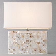 Buy John Lewis Mia Capiz Table Lamp Online at johnlewis.com