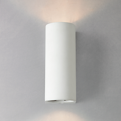 John Lewis Milo Wall Uplighter, White