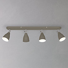 Buy John Lewis Plymouth 4 LED Spotlight Ceiling Bar Online at johnlewis.com