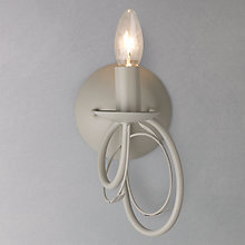 Buy John Lewis Rebecca Wall Light, Grey Online at johnlewis.com