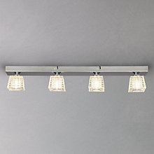 Buy John Lewis Tian 4 Spotlight Glass Cubes Bar Online at johnlewis.com