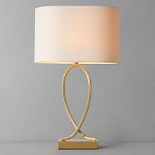 Buy John Lewis Tom Touch Table Lamp, Brass Online at johnlewis.com