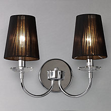 Buy John Lewis Vivienne String Shade Wall Light Online at johnlewis.com