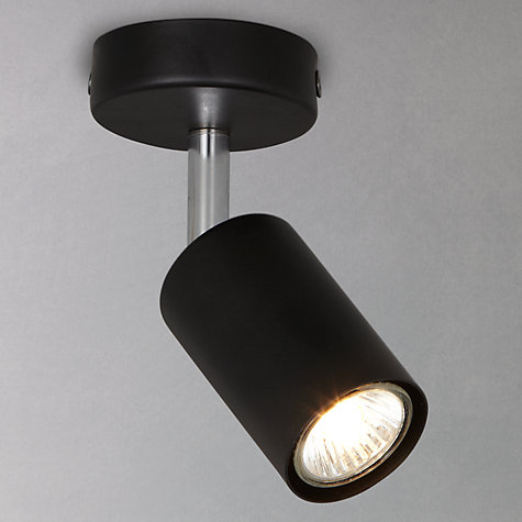 Buy John Lewis Vesper Single Spotlight, Black Online at johnlewis.com