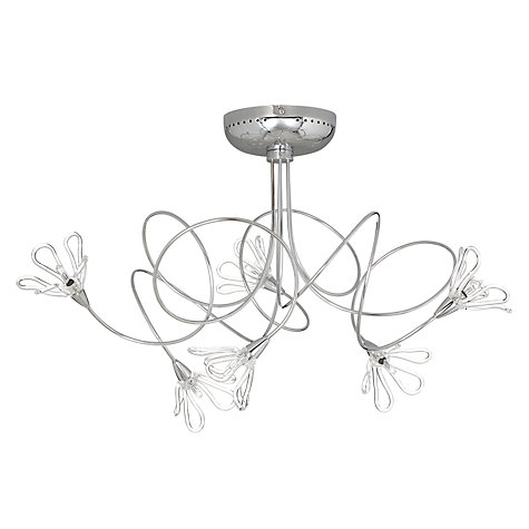 Buy John Lewis Jardin Semi-flush Light Online at johnlewis.com