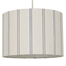 Buy John Lewis Aria Stripe Shade, Grey Online at johnlewis.com