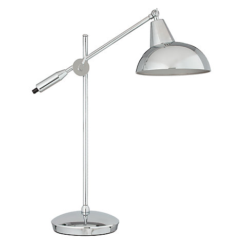 Buy John Lewis Brooklyn Task Lamp, Silver Online at johnlewis.com