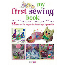 Buy My First Sewing Book Online at johnlewis.com
