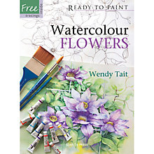Buy Ready To Paint: Watercolour Flowers Online at johnlewis.com