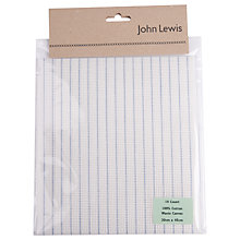 Buy John Lewis 14 Count Waste Canvas, Cream Online at johnlewis.com